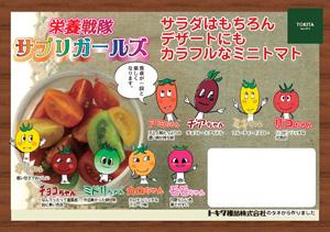 サプリ―ガールズ(青果販売用ポップ)A4